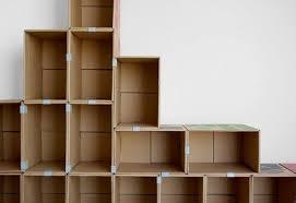 cara membuat lemari buku dari kardus bekas jangan buang kardus bekas bisa jadi perabotan lucu kayak 20 foto ini