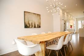 dining room modern chandeliers photo of nifty modern dining room