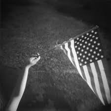 Black And White American Flag Dreaming In Black And White With Photographer Jennifer Shaw