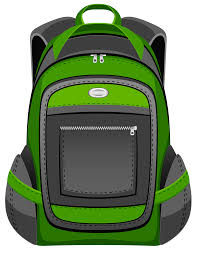 black and green backpack png vector clipart gallery