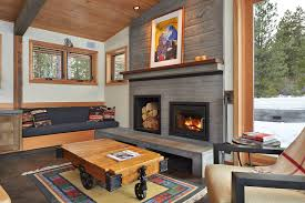 Custom Electric Fireplace by Electric Fireplace Inserts In Living Room Contemporary With
