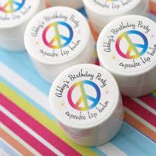 lip balm favors kids birthday party themes custom favors by the favor stylist