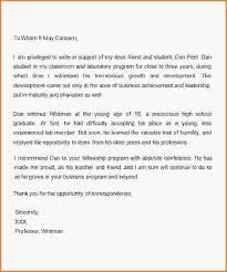 how to write a scholarship letter sample letter of recommendation