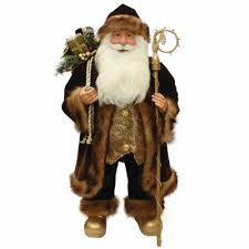 24 santa claus figurine with staff jcpenney