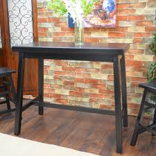 sofas center rustic sofa tables bar heightbar height table