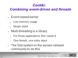 programming memory constrained networked embedded systems ppt