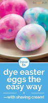 how to dye easter eggs u2014 with shaving cream thegoodstuff