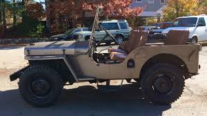 military jeep willys for sale buy 1948 jeep util willys weston ma weston automotive inc
