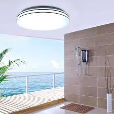 floureon 24w round led ceiling light bright light 2880 lm bedroom