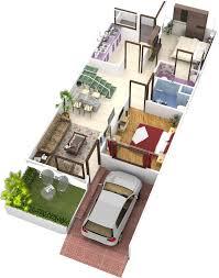 home design for 20x50 plot size smt leela devi house 20 x 50 1000 sqft floor plan and 3d 3