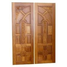 Kerala Wooden Double Door Designs Pictures