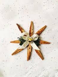 clothes pin snowflake ornament snowflake ornaments ornament and