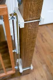 Best Stair Gate For Banisters Square Post Clamps For Safety Gate Installation Baby Care
