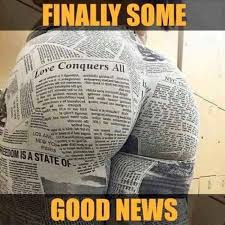 Good News Meme - finally some good news