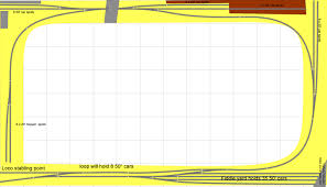 track plans the staging yard