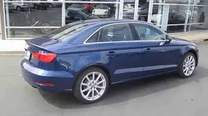 2015 audi a3 scuba blue metallic stock 109980 walk around