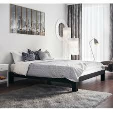Metal Platform Bed Frame Homepacific Modern Heavy Duty Low Profile Black Metal Platform Bed