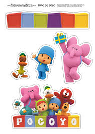 pocoyo cake toppers pocoyo free printable cake toppers oh my baby