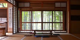 042 bamboo in a traditional japanese house