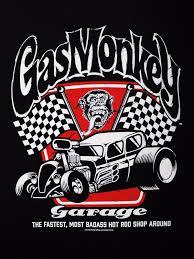 gas monkey cars gas monkey garage badass spark plugs motor rod licensed black