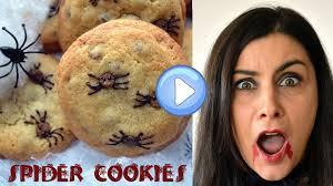 spider cookies halloween recipe unicorns eat cookies