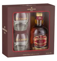 Regal Kitchen Pro Collection Chivas Regal Extra With Two Glasses David Jones