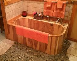 wooden bathtubs american built wood bathtubs and ofuros