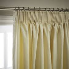 Pencil Pleat Curtains Wilko Pencil Pleat Thermal Blackout Curtains Cream167 X 137cm At