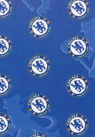 football wrapping paper chelsea football club gift wrapping paper cardspark