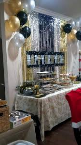 New Years Eve Black And White Decorations by Best 25 New Years Eve Decorations Ideas On Pinterest Nye 2016