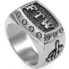 men s ring size wish stainless steel ftw ring middle finger size 7 15 wedding