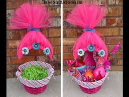 minnie mouse easter baskets trolls easter basket idea