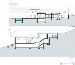 sloping house plans fresh inspiration 12 downhill house plans sloping lot homepeek