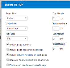 print to excel file exporting a report to excel or pdf replicon help