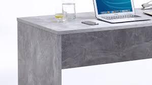 Schreibtisch Hochglanz Grau Brick Beton Optik Und Weiß Hochglanz Inkl Rollcontainer