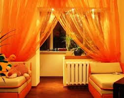 Bright Orange Curtains Windows Orange Valances For Windows Decorating The 25 Best Burnt