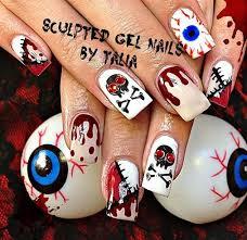 157 best halloween nail art images on pinterest halloween nail