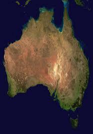 australia satellite map australia satellite plane mapsof net