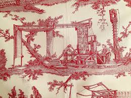 Toile De Jouy Decoration Centuries Of French History Shown In Pierre Frey Fabric