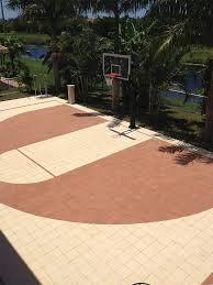 How To Build A Basketball Court In Backyard Best 25 Backyard Basketball Court Ideas On Pinterest Outdoor