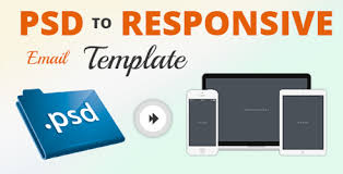 psd to responsive email template conversion newsletters design