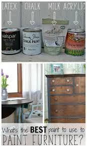 imposing ideas what paint to use on wood furniture clever design