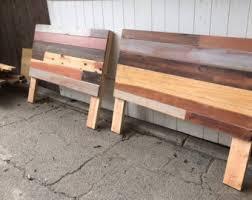 Reclaimed Wood Headboard Modern Wood Headboard Full Headboard Reclaimed Wood