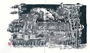urban sketchers singapore black u0026 white sketches