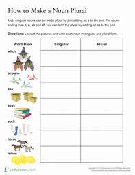 plural words ending in s worksheet education com