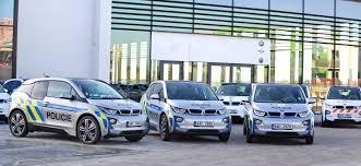 prague car czech republic police acquire 11 bmw i3 for prague