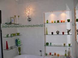 Glass Shelves For Bathroom Wall Glass Bathroom Shelves Inspiring Chocoaddicts Chocoaddicts