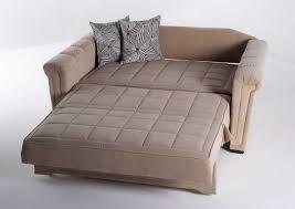 Stylish Sleeper Sofa Loveseat Vintage Loveseat Sleeper Sofa With Grey Fabric Color