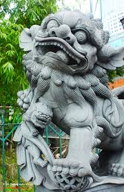 shishi statue fu lions 石獅 japanese foo lions 狛犬 komainu rui