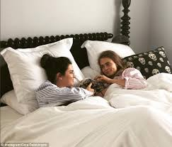 Cuddle In Bed Kendall Jenner And Cara Delevingne Cuddle In Bed On Instagram